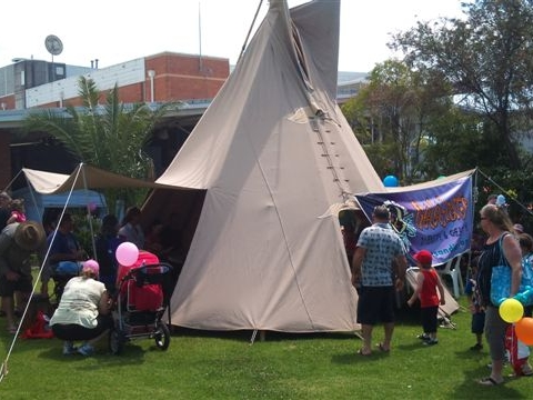 Tipi and Drumming Workshops